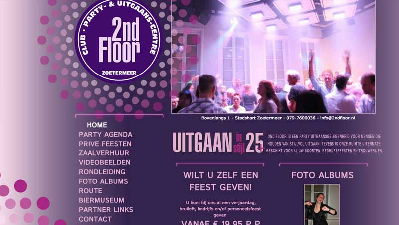 Website - 2nd Floor, Zoetermeer